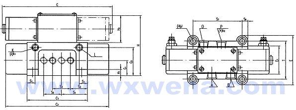 电磁支撑阀 电磁卸荷阀 压力表开关 压力继电器 双向液压锁 调速阀图片