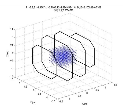 亥姆霍兹线圈磁场发生器