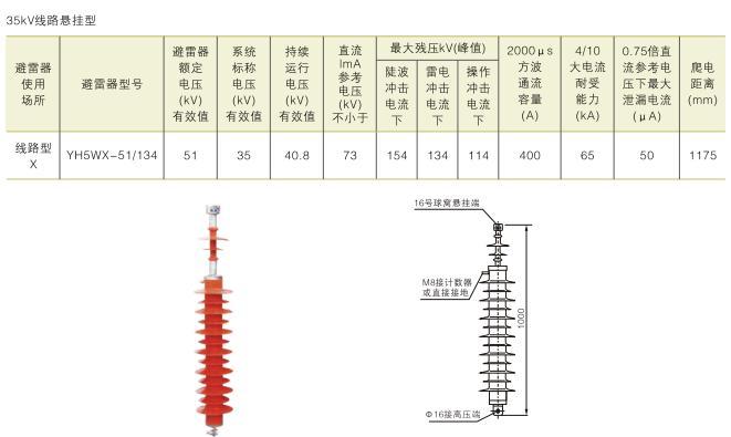 YH5WX-51/134,避雷器(图片型X)_易展仪表v图片的搞笑孩子线路纸0分卷图片