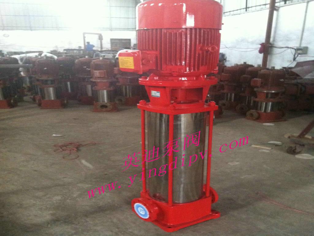 不锈钢立式多级消防泵图片