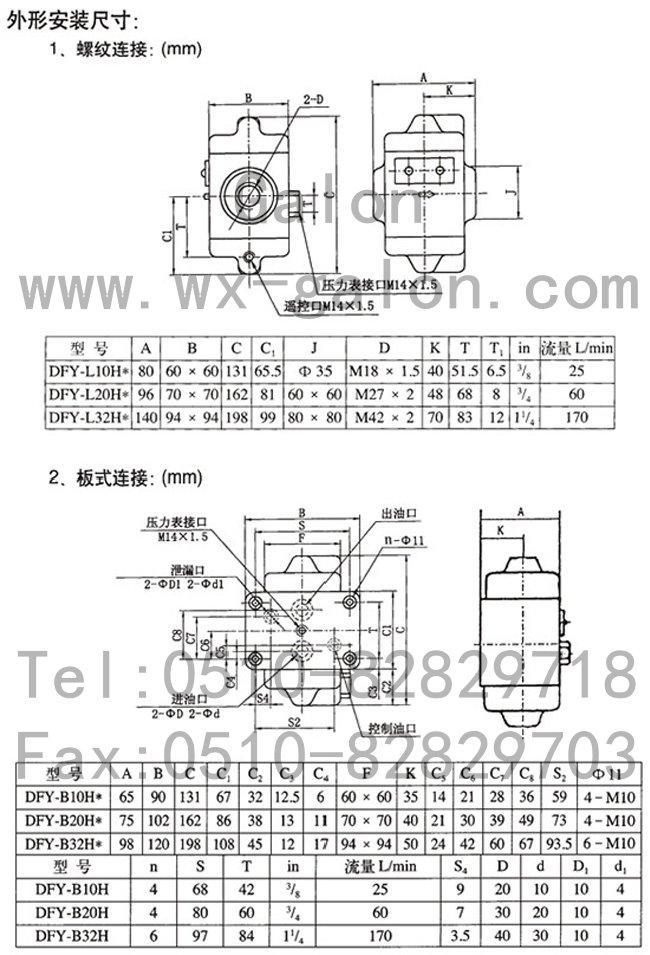 dfy2-l50h1-s,液控单向阀图片