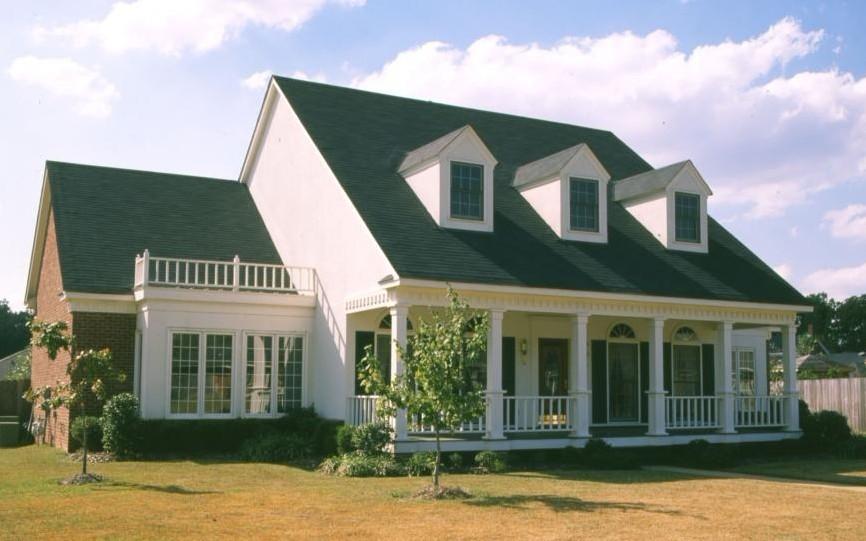 北美风格型木别墅1