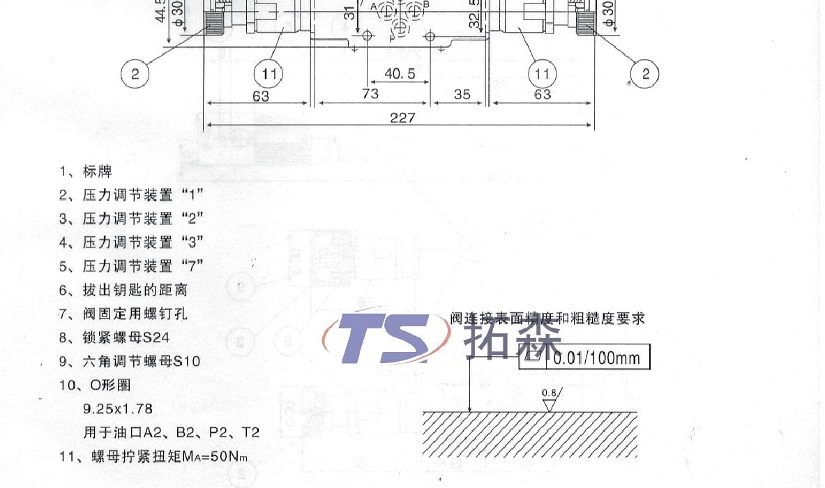 z2db6叠加式溢流阀图片