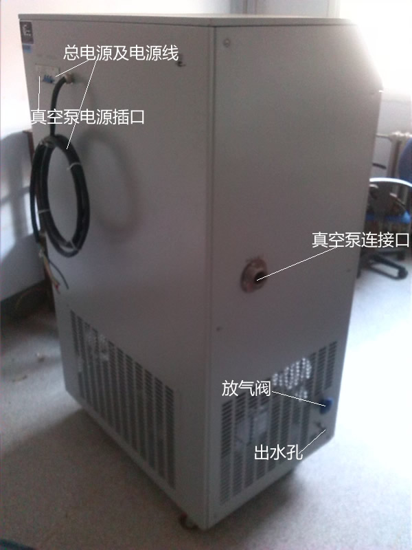 LGJ-50FD原位方仓真空冻干机