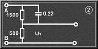 接触电流测试人体测量网络U1