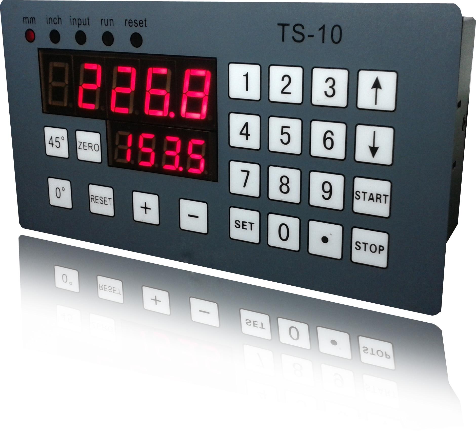ts10 伺服电机/步进电机控制器 角度测量显示