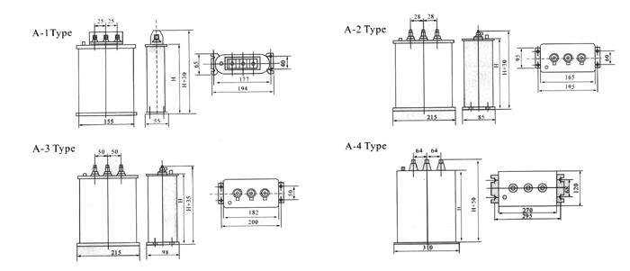 自愈式低电压并联电容器