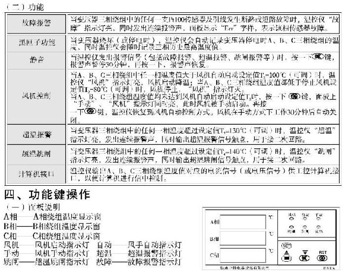 干式变压器温度控制器    BWDK-3207         BWDK-3208