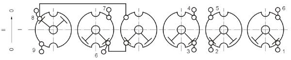 电焊机用转换开关 HZ10D-25/E119