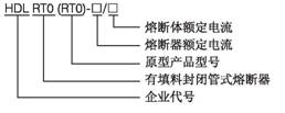 有填料封闭管式  HDLRT0-600 550A