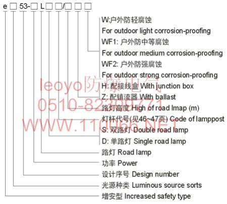 防爆路灯    eB53-200L        eZ53-150L        eZ53-160L