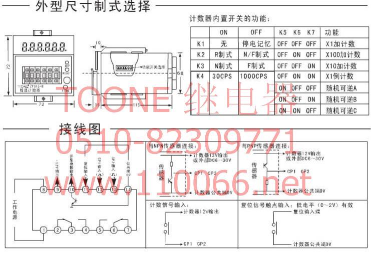 数显计数器    ZYC15       JDM15