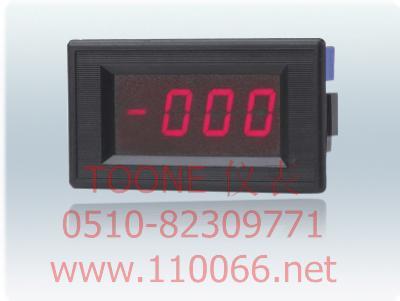 数字面板电压表      ZYX1-MU