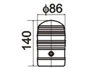 频闪小型警示灯  LTD5088