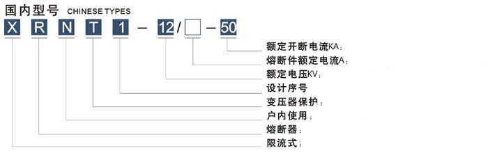 全范围保护用高压限流熔断器  XRN□-12KV