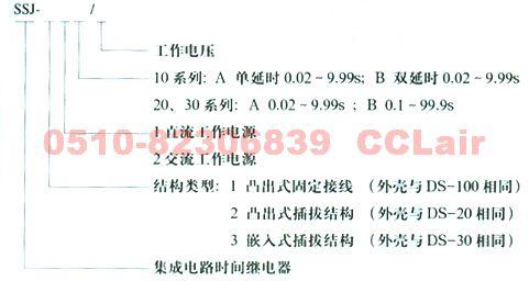 集成电路时间继电器     SSJ-11B        SSJ-12B