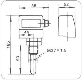 压力式温度控制器   WTYK-11B        WTYK-11