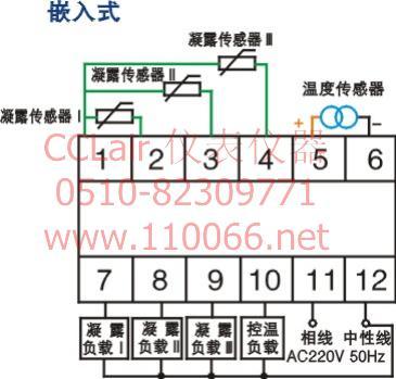 凝露温度控制器    N3WK-2P2(TH)