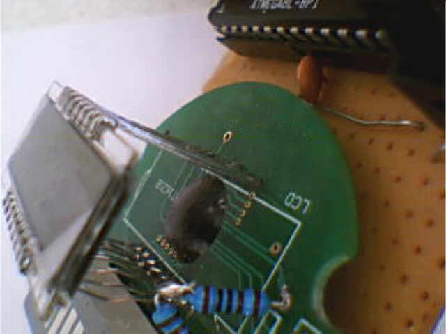 液晶驱动HT1621
