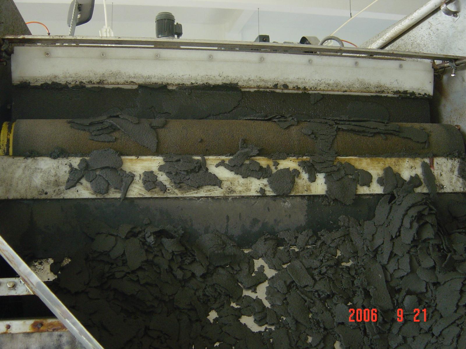 立毛纤维污泥脱水机