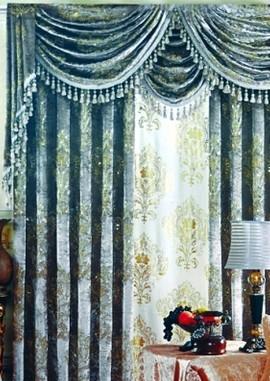 八大窗帘布艺系列 轻松打造浪漫家居氛围
