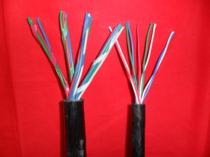 铜丝编织屏蔽矿用电缆