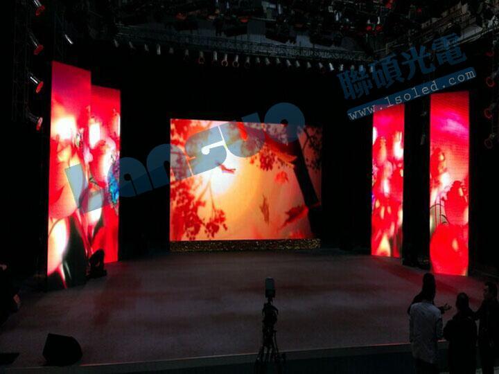 通常面积在20平方米以内的室内led显示屏,可以采用磁铁吸附钢结构固定