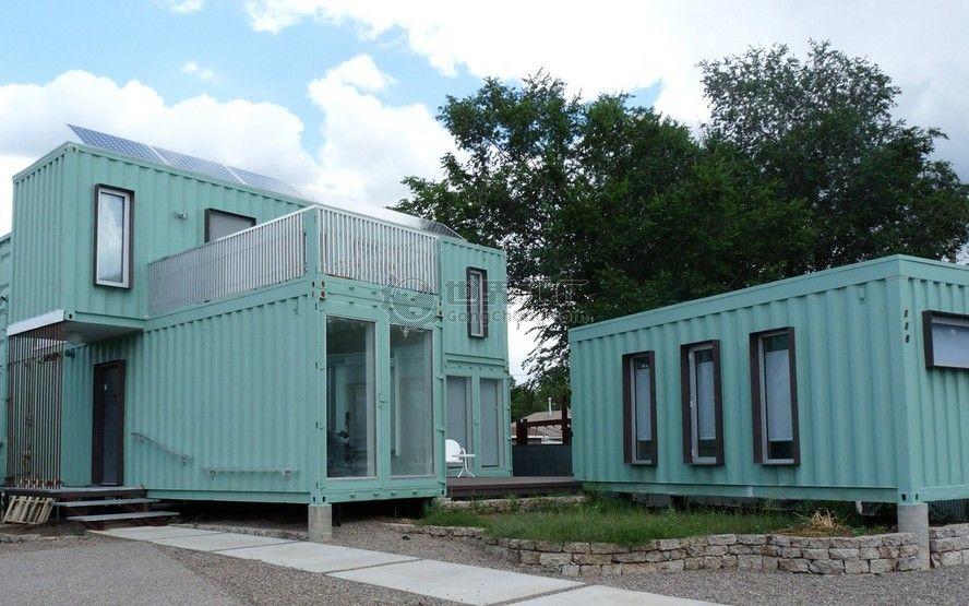 寒冷 热带地区舒适性高效保温隔热集装箱房屋