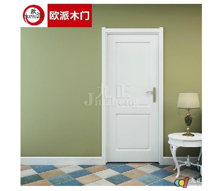 欧派木门03简约时尚室内门卧室门套装门3d立体雕刻 免