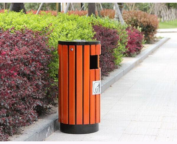 公园垃圾箱环卫垃圾桶不锈钢垃圾箱加油站垃圾箱