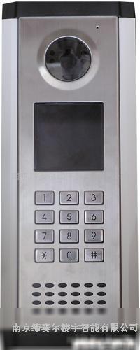 普天编码式可视小区大门机