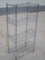 组合配护栏防静电货架