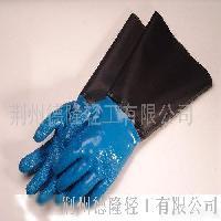 PVC渔业防滑手套,棉里,绒里