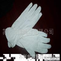 棉毛点塑手套