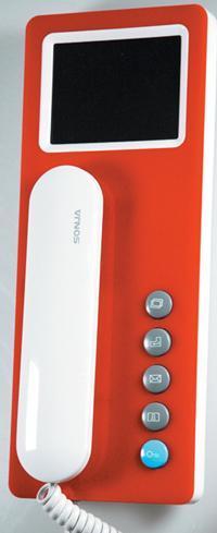 C型彩色可视分机4 SJ-98KC-P1C01