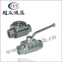不锈钢高压直通球阀 RKH(316Ti)