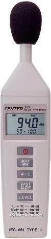袖珍型音量计CENTER-325