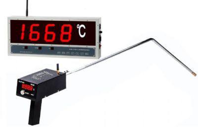 W660无线式大屏幕熔炼钢水测温仪