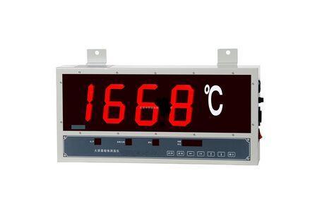 大屏幕熔炼测温仪
