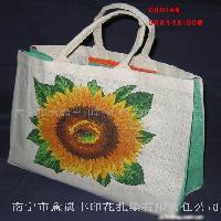 黄麻布购物袋