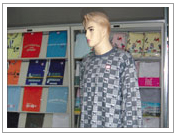 生产各种T恤衫、运动服,各种针织内衣、外衣