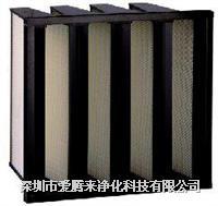 箱式无隔板大风量高效过滤器 595×595×295
