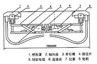 单极滑触线集电器配件02