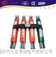 进口型欧标125A镀锌钢滑触线  TBWG