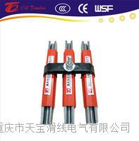 进口型欧标100A镀锌钢滑触线  TBWG