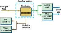 SourSep™係列天然氣中脫除H2S的膜分離解決方案 SourSep™