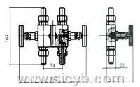 重慶川儀SF-1型三閥組 SF-1型三閥組