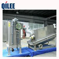 QLD301不銹鋼材料污水處理污泥脫水帶式壓濾機 QLD301