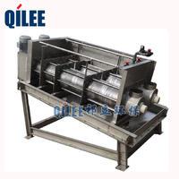 QLD302旋轉式疊螺污泥壓濾機用于造紙廠污泥脫水 QLD302