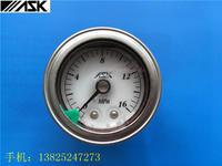 日本ASK牌耐震压力表 不锈钢压力甘油表 硅油耐压小型压力表 OPG-DT-R1/4-39x10MPa-S